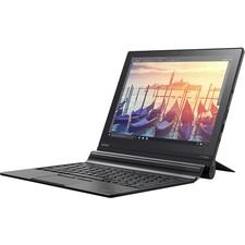 """Lenovo ThinkPad X1 Tablet 20GG001KUS 12"""" 2 in 1 Notebook - Intel Core M m5-6Y57 Dual-core (2 Core) 1.10 GHz - 8 GB LPDDR3 - 256 GB SSD - Windows 10 Pro 64-bit (English) - 2160 x 1440 - In-plane Switching (IPS) Technology - Convertible - Midnight Black"""