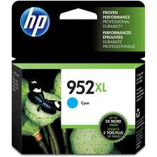 HP 952XL Original Ink Cartridge - Single Pack - Inkjet - High Yield - 1600 Pages - Cyan