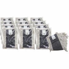 GJO 00245CT Genuine Joe Disposable Cotton Dust Mop Refill GJO00245CT
