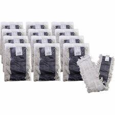 GJO 00485CT Genuine Joe Disposable Cotton Dust Mop Refill GJO00485CT