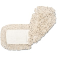 "Genuine Joe 4-ply Dust Mop Refill - 24"" Width5"" Depth - Cotton"