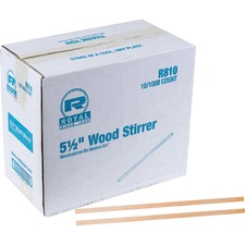 RPP R810CT Royal Paper Products Wood Coffee Stir Sticks RPPR810CT