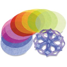 RYL R2172 Roylco Tissue Paper Circles RYLR2172