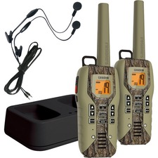 Uniden GMR5088-2CKHS Camo Submersible Two Way Radio with Charger and Headset