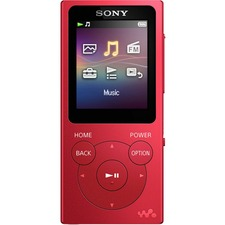 Sony Walkman NW-E394 8 GB Flash MP3 Player - Red