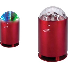 iLive Speaker System - Wireless Speaker(s) - Portable - Battery Rechargeable - Red