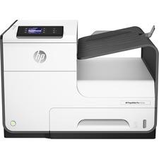HP PageWide Pro 452dw Desktop Page Wide Array Printer - Color - 40 ppm Mono / 40 ppm Color - 2400 x 1200 dpi Print - Automatic Duplex Print - 550 Sheets Input - Ethernet - Wireless LAN - 50000 Pages Duty Cycle