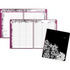 AAG589905 - At-A-Glance FloraDoodle Weekly/Monthly Appointment Book