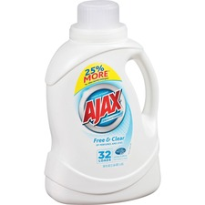 AJAPB49551 - AJAX Free/Clear Liquid Laundry Detergent