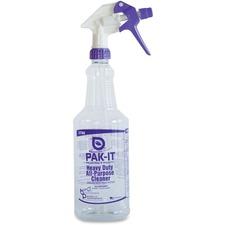 BIG 5744B12 Big 3 Pkg Pak-It All-Purpose Cleaner Spray Bottle BIG5744B12