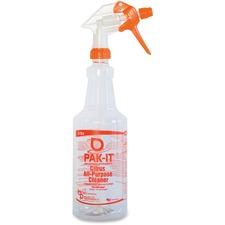 Big 3 Packaging PakIt Citrus AllPur Cleaner Spray Bottle