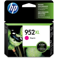 HP 952XL (L0S64AN) Original Ink Cartridge - Inkjet - High Yield - 1600 Pages - Magenta - 1 Each