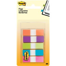 "MMM 6835CB2 3M Post-it 1/2"" Assorted Flags MMM6835CB2"