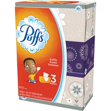 PGC 87615CT Procter & Gamble Puffs Basic Facial Tissues PGC87615CT