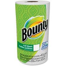 PGC 95028 Procter & Gamble Bounty Full Sheet Paper Towels PGC95028