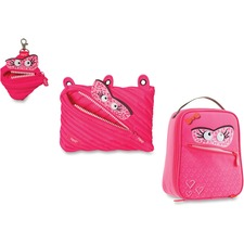 ZIT ZTLBSKYSPR ZIPIT Monstar Lunch Bag Pouch Set ZITZTLBSKYSPR