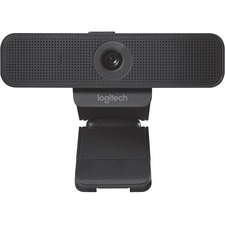 Logitech C925e Webcam - 30 fps - USB 2.0 - 1 Pack(s) - 1920 x 1080 Video - Auto-focus - Widescreen - Microphone - Notebook, Monitor