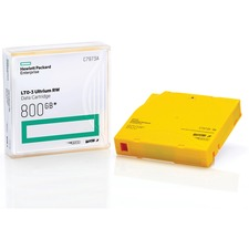 HPE LTO3 Ultrium RW Data Cartridge - LTO-3 - 400 GB (Native) / 800 GB (Compressed) - 2231 ft Tape Length - 1 Pack