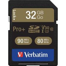 VER 49196 Verbatim Pro Plus 600X SDHC Memory Card VER49196