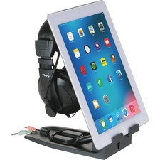 ASP31661 - Allsop Headset Hangout - Headset and Tablet Stand