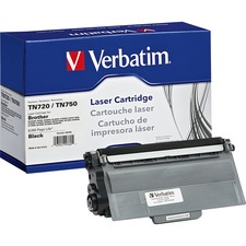 Verbatim Remanufactured Laser Toner Cartridge alternative for Brother TN720/TN750