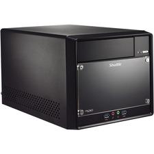 Shuttle XPC cube SH110R4 Barebone System Mini PC - Intel H110 Chipset - Socket H4 LGA-1151 - 1 x Processor Support - Black