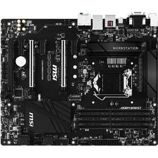 MSI C236A WORKSTATION Workstation Motherboard - Intel Chipset - Socket H4 LGA-1151