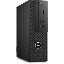 Dell Precision 3000 3420 Workstation - Intel Xeon E3-1240 v5 Quad-core (4 Core) 3.50 GHz - 16 GB DDR4 SDRAM - 256 GB SSD - NVIDIA Quadro K620 2 GB Graphics - Windows 7 Professional 64-bit (English/French/Spanish) upgradable to Windows 10 Pro - Small Form Factor