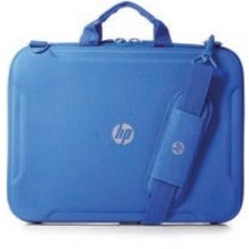 "HP Always-On Carrying Case for 14"" Chromebook - Blue"