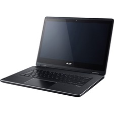 "Acer Aspire R5-471T-78VY 14"" Touchscreen LCD Notebook - Intel Core i7 i7-6500U Dual-core (2 Core) 2.50 GHz - 8 GB LPDDR3 - 256 GB SSD - Windows 10 Home 64-bit - 1920 x 1080"