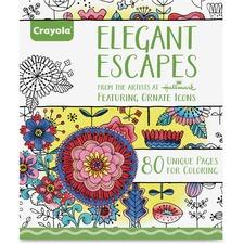 CYO 992023 Crayola Elegant Escapes Coloring Book CYO992023