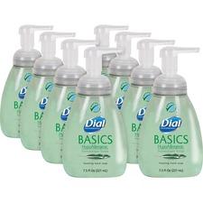 DIA 06042CT Dial Corp. Basics HypoAllergenic Foaming Hand Soap DIA06042CT