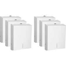 GJO 02197CT Genuine Joe C-Fold/Multi Towel Dispensing Cabinet GJO02197CT