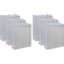 GJO 02198CT Genuine Joe C-Fold/Multi Towel Dispensing Cabinet GJO02198CT