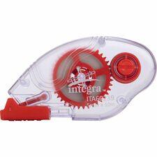 Integra Dispensing Correction Tape - Holds Total 1 Tape(s) - White
