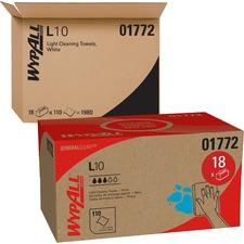 KCC 01772 Kimberly-Clark WypAll L10 Sani-Prep Dairy Towels KCC01772