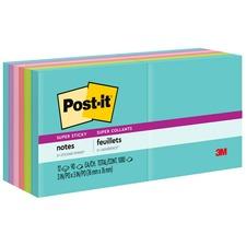 MMM65412SSMIA - Post-it® Super Sticky Notes, 3