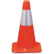 MMM 90128R 3M Orange Reflective Safety Cones MMM90128R