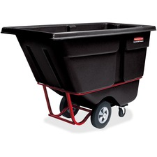 RCP 131500BK Rubbermaid Comm. 1250 lb Cap. Std Duty Tilt Truck RCP131500BK