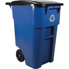 RCP 9W2773BE Rubbermaid Comm. Brute Recycling Rollout Container RCP9W2773BE