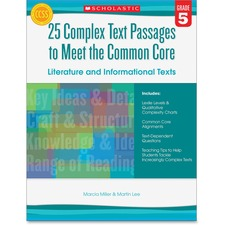 Scholastic Res. Gr 5 Complex Texts CC Workbook Education Printed Book by Martin Lee, Marcia Miller