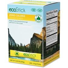 SUG 83747 Sugarfoods EcoStick Sucralose Sweetener Packets SUG83747