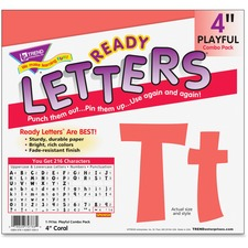 "TEP 79766 Trend 4"" Playful Ready Letters Combo Pack TEP79766"