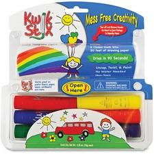 TPG 605 Pencil Grip Kwik Stix Tempera Paint/Paper Set TPG605