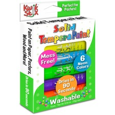 TPG 610 Pencil Grip Kwik Stix Tempera Paint Neon Sticks TPG610