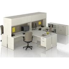 LAS31NEF3072ST - Lacasse Concept 300 Pedestal Desk