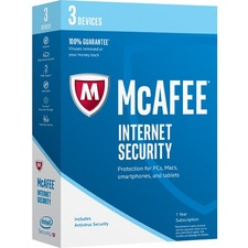 McAfee Internet Security 2017 - 3 Device