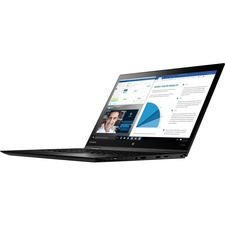 "Lenovo ThinkPad X1 Yoga 20FQ005BUS 14"" Touchscreen 2 in 1 Ultrabook - Intel Core i7 (6th Gen) i7-6600U Dual-core (2 Core) 2.60 GHz - 8 GB LPDDR3 - 256 GB SSD - Windows 10 Pro 64-bit (English) - 2560 x 1440 - In-plane Switching (IPS) Technology - Business Black"