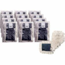 GJO 00365CT Genuine Joe Disposable Cotton Dust Mop Refill GJO00365CT