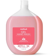 MTH 00655 Method Products P.Grapefruit Gel Hand Wash Refill MTH00655